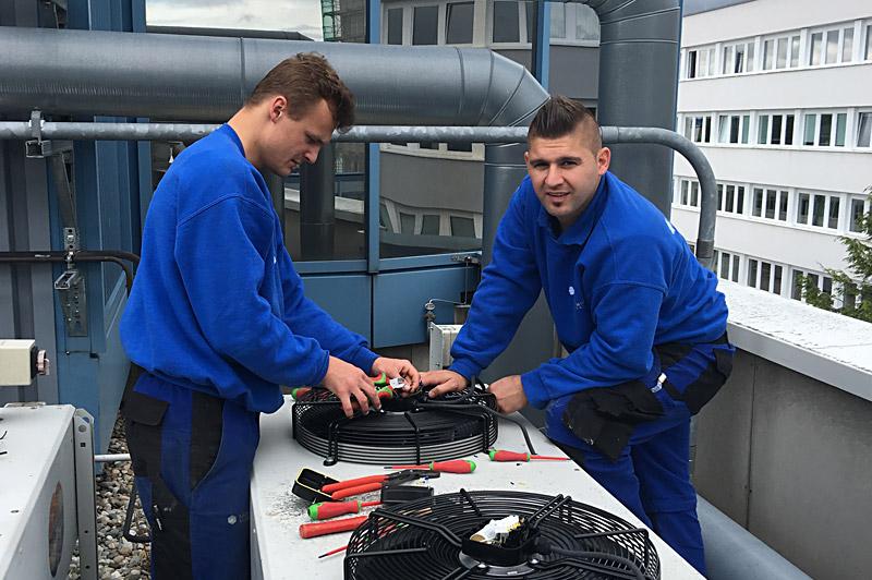 Klimaanlagen-Muenchen-Bayern-Kaeltetechnik-Klimatechnik-Einwandfreie-Montage